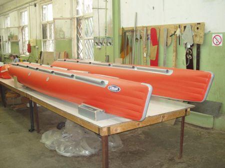 Баллоны для катамаранов. фирма окг сплав - катера на воздушн.
